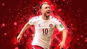 Christian Eriksen Danish Soccer 3840x2400 Wallpaper