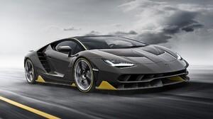 Lamborghini Centenario Lamborghini Car Vehicle Black Cars 1920x1080 Wallpaper