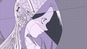 Anime Battle Angel Alita Anatomy Brain Gally 1600x1200 Wallpaper