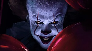 Creepy Pennywise It 3904x2196 Wallpaper