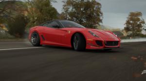 Forza Forza Horizon 4 Racing Car Ultrawide Video Games Ferrari GTO Drift 3440x1440 Wallpaper
