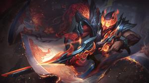 Jhin Jhin League Of Legends Scrolls League Of Legends Riot Games ADC Adcarry 7680x4320 Wallpaper