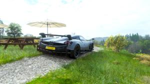Forza Horizon 4 Pagani Huayra BC Pagani Car Vehicle Video Games 1920x1080 Wallpaper