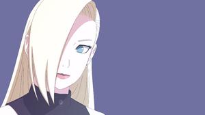 Naruto Anime Anime Girls Blonde Blue Eyes 3840x2160 Wallpaper