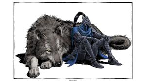 Dark Souls Artorias The Abysswalker Sword Armor Knight Wolf Menaslg 2560x1440 Wallpaper