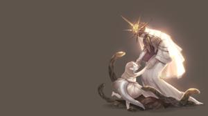 Dark Souls Dark Sun Gwyndolin Gwyndolin Dark Souls Snakes Dress San 2560x1440 Wallpaper