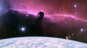Hubble Space Earth 1280x960 Wallpaper