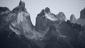 Mountains Snow Nordic Landscapes 5616x3744 Wallpaper