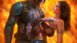 Wonder Woman Justice League DC Comics Women Movies Vertical Superhero Diana Wonder Woman Drawing Fan 1920x1920 wallpaper