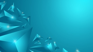 Artistic Geometry Triangle Turquoise 3000x2000 wallpaper