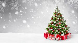 Christmas Christmas Tree Gift 2560x1440 Wallpaper