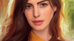 Stam Quito Digital Art Artwork Drawing Fan Art Digital Painting Portrait Portrait Display Anne Hatha 2550x3300 Wallpaper