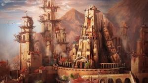 City 2560x1440 Wallpaper