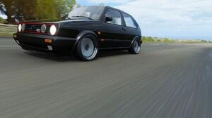 VW Golf Volkswagen Car Road Asphalt Vehicle Black Cars 1920x1080 Wallpaper