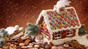 Christmas Christmas Ornaments Cookie Gingerbread Holiday 7700x5133 Wallpaper