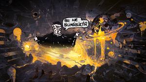 Umut Sar Kaya Caricature Comics Bu Ne Bilimsizliktir 2560x1440 Wallpaper