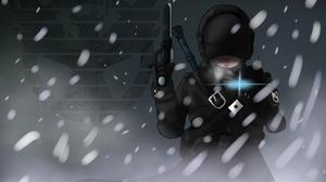 Snowfall Warrior Weapon 2000x1500 Wallpaper