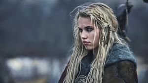 The Last Kingdom Skade Vikings Women Actress Thea Sofie Loch Nass 2560x1440 Wallpaper