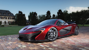 Car Mclaren Mclaren P1 Red Car Sport Car Supercar Vehicle 4000x2667 Wallpaper