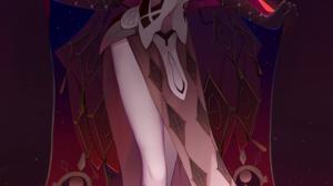 Anime Anime Girls Digital Art Artwork 2D Portrait Display Vertical Genshin Impact La Signora Genshin 5056x8500 wallpaper