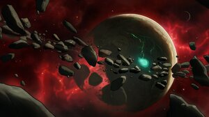 Space Planet Concept Art 2047x1122 Wallpaper