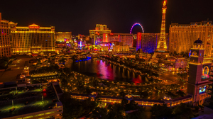 City Cityscape Las Vegas Light Night 4584x3400 wallpaper