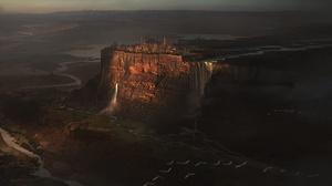 Waterfall Landscape 1920x1080 Wallpaper