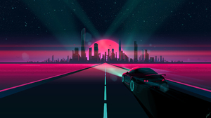Car City 2560x1440 wallpaper