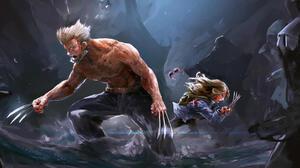Logan Movie Wolverine X 23 3506x1710 wallpaper