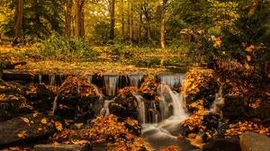 Fall Stream 3840x2160 wallpaper