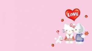 Hello Kitty 1440x810 wallpaper