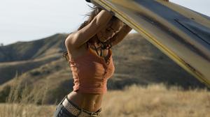 Car Megan Fox Transformers 3000x2000 Wallpaper