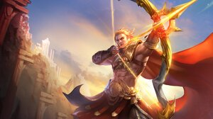 Tulen Arena Of Valor Warrior Archer Bow 4592x2376 Wallpaper