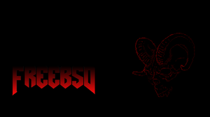 Freebsd Bsd Linux Unix Doom Game Demon 1920x1080 Wallpaper