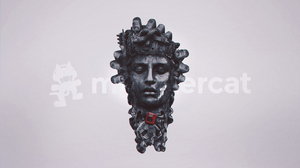 Monstercat Aero Chord Need For Speed Minimalism Red Statue Trap Music EDM 3840x2160 Wallpaper