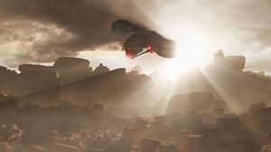 Sci Fi Spaceship 4000x1500 Wallpaper