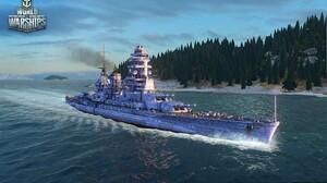 World Of Warships Battleship War Ocean Battle 1920x1200 Wallpaper