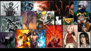 Naruto Naruto Uzumaki Sasuke Uchiha Sharingan Naruto Kakashi Hatake Sakura Haruno Obito Uchiha Kuram 1920x1080 Wallpaper