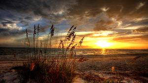 Beach Cloud Hdr Landscape Ocean Sand Scenic Sun 1920x1200 Wallpaper