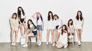 K Pop Twice Korean Women Asian White Shoes Shorts Women Brunette Long Hair Legs White Wall 2560x1440 Wallpaper