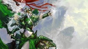 Fantasy Archer 2606x1600 wallpaper