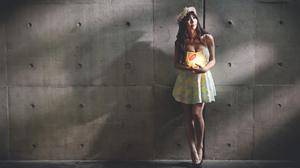 Asian Brunette Girl Model Woman 5472x3648 Wallpaper
