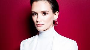 Actress Singer Russian Face Earrings Brown Eyes Black Hair 3648x2784 Wallpaper