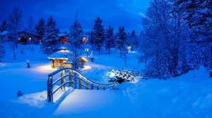 Outdoors Winter Finland Snow Ice Cold 2048x1365 Wallpaper