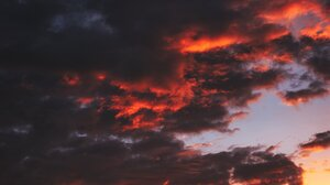 Nature Landscape Clouds Sunset Sky Portrait Display 1536x2048 Wallpaper