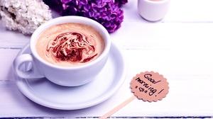 Coffee Cup Good Morning Still Life 5910x4655 wallpaper