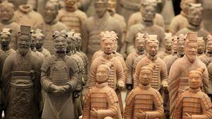 Terracotta Warriors China Historical Relic Historic 3000x2000 wallpaper