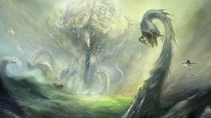 Fantasy Dragon 1920x1209 wallpaper