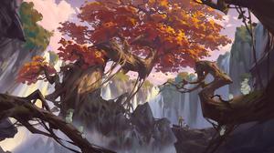 Fantasy Landscape 2289x1080 Wallpaper