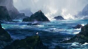 Fantasy Ocean 1920x1080 Wallpaper